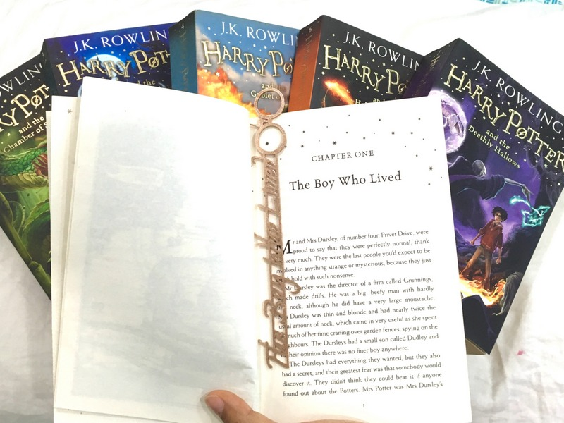 Boy Who Lived Bookmark