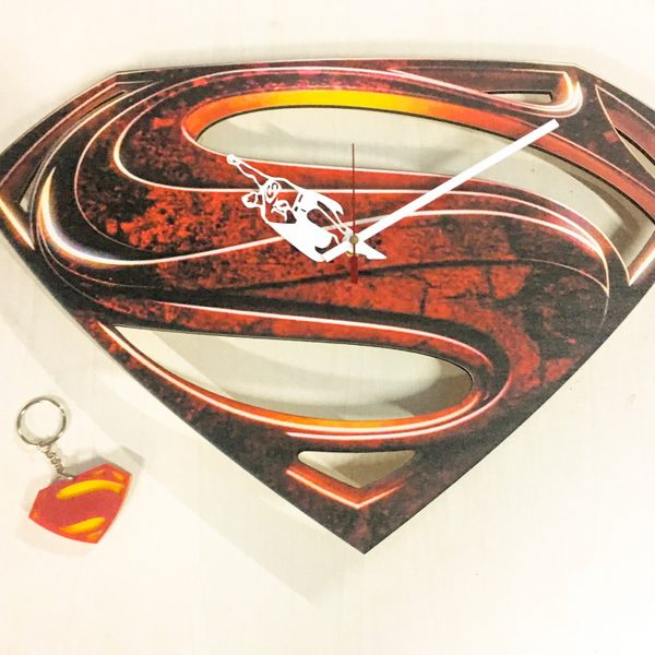 Superman Clock