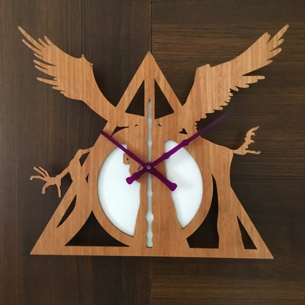Deathly Hallows Clock