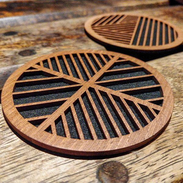 Geometric Coaster set