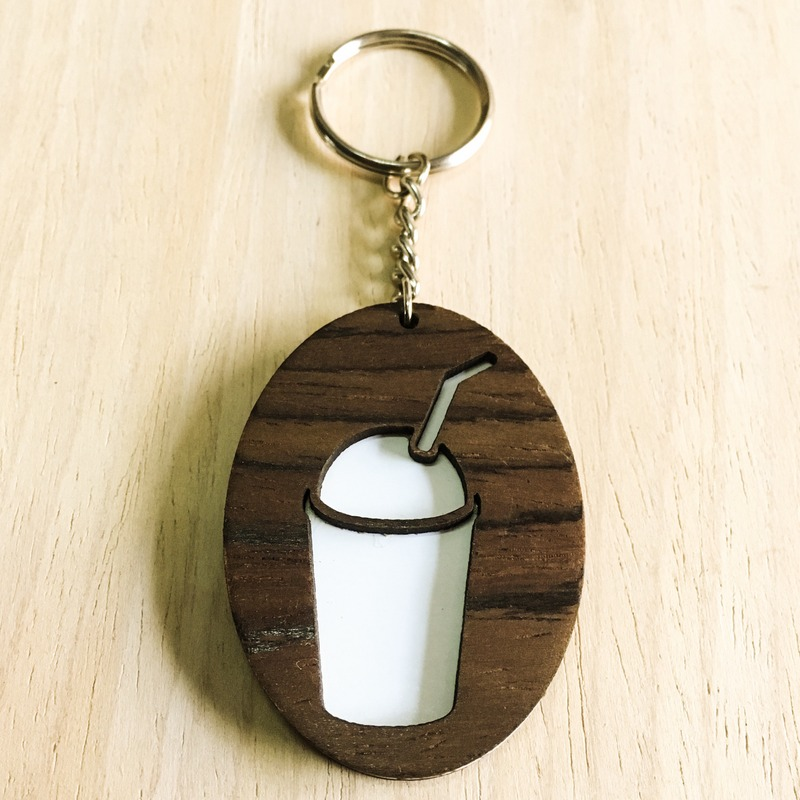 Frappe Keychain