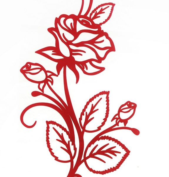 Rose Bunch Applique