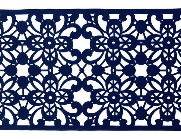 2 Layer flower Lace Border