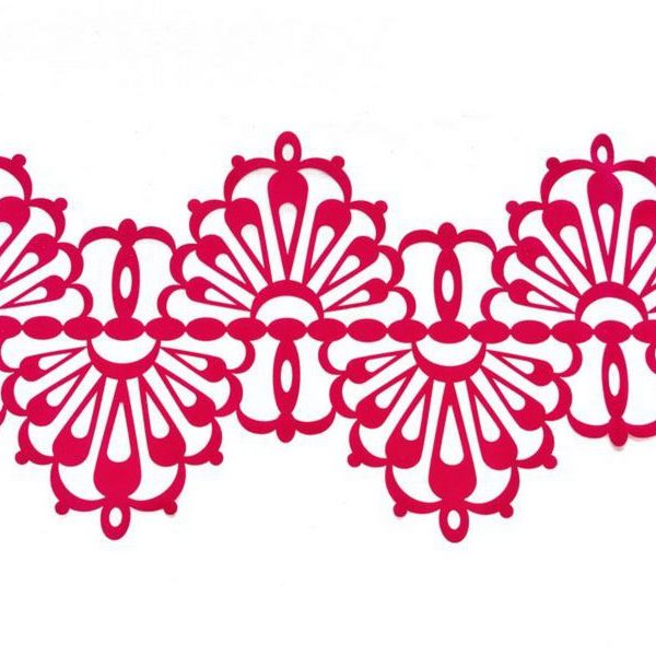 Drop Ricrac Lace Border
