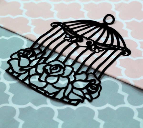 Rose Cage Applique