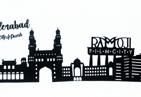 Hyderabad Skyline Applique