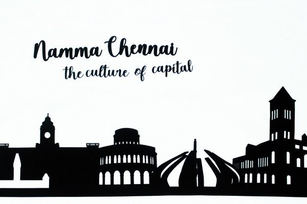 Chennai Skyline Applique